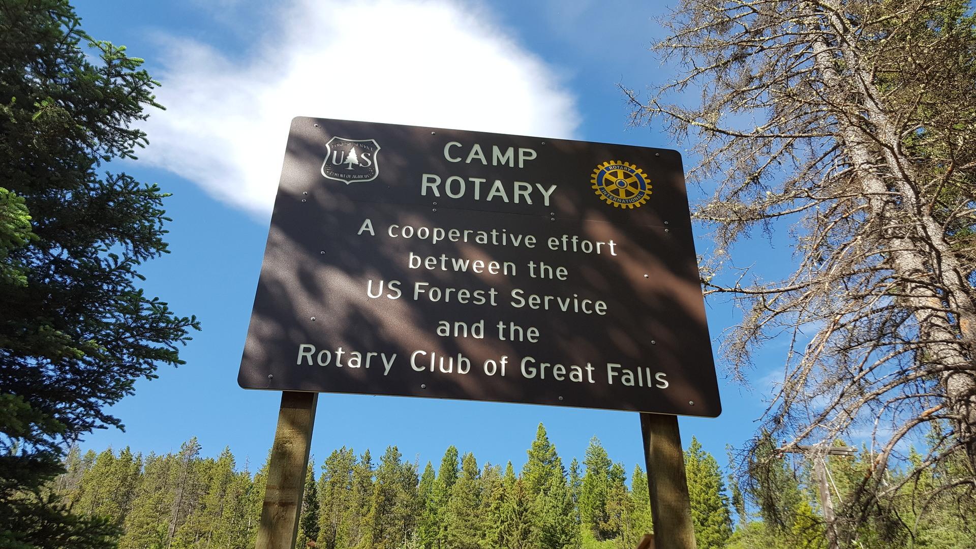 17 -Camp Rotary Sign Closeup