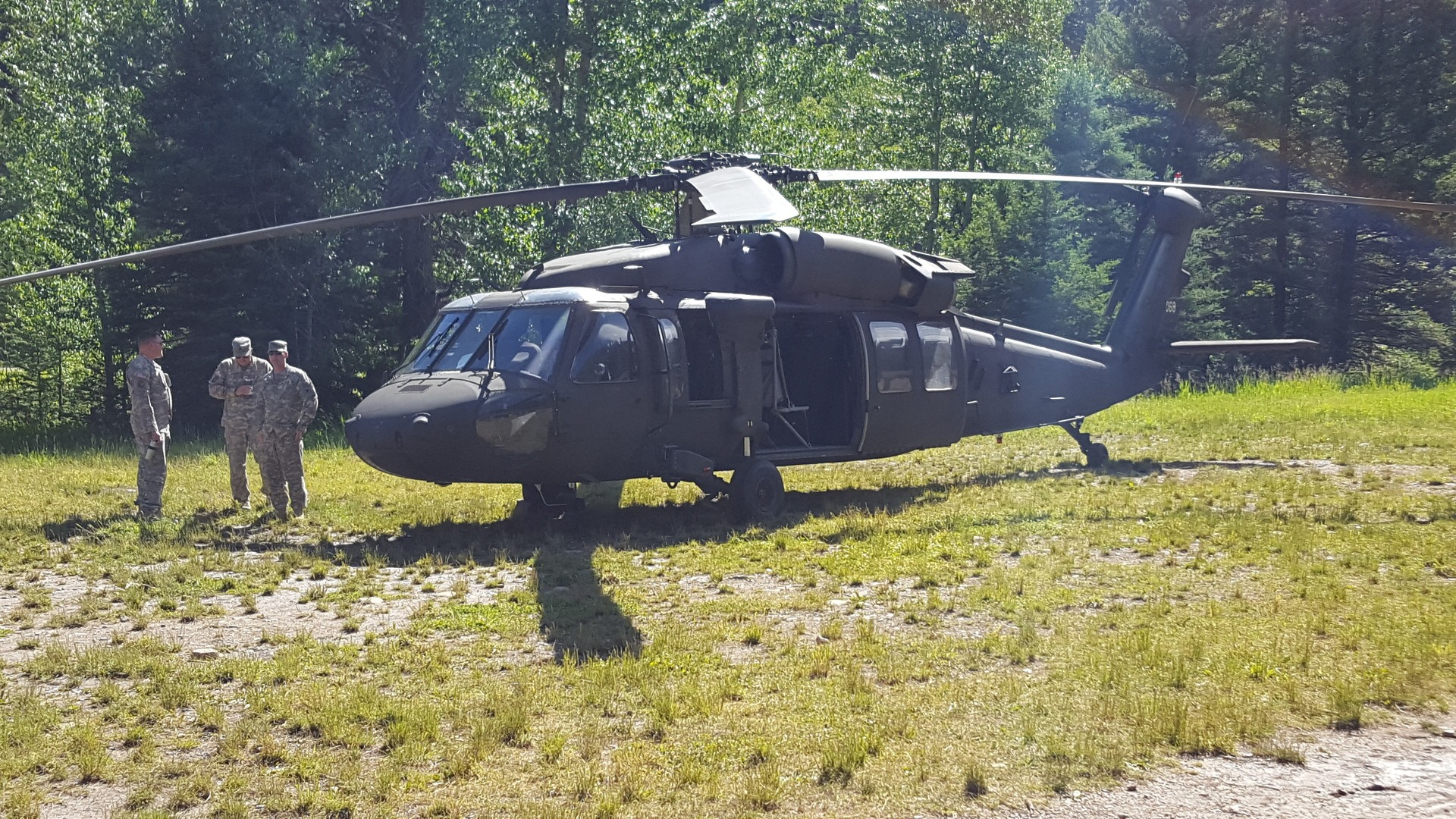 29 - View the Blackhawk Helicopter