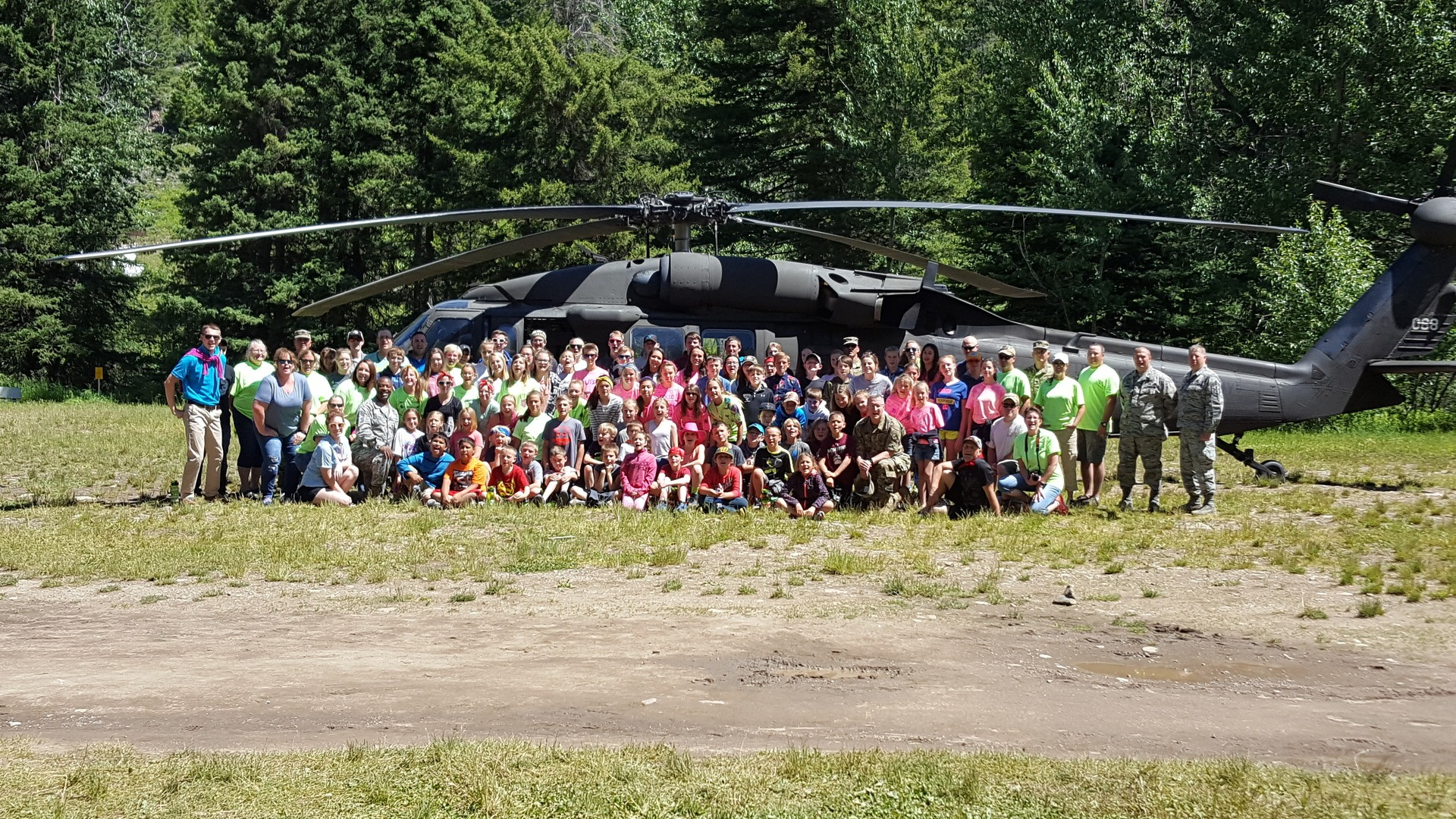 37 - 2017 Campers and Blackhawk Helicopter
