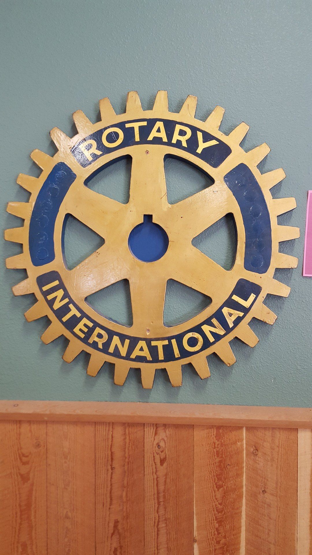9 - Rotary Intl Sign
